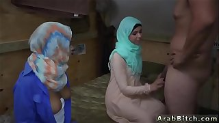 Arab iraq and school girl first time Operation Pussy Run!