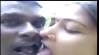 Horny Desi indian village girl fucked jungle by bf in outdoor clear  audio