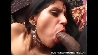 Fat Hooter Indian Bi-atch XXX Poking With Gang Of White Studs