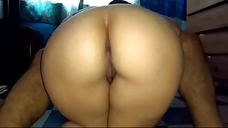 Young Desi Bhabhi Rides on Ab Machine