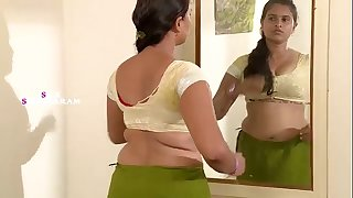 IndianSexy Aunty Dress Switching in Bedroom